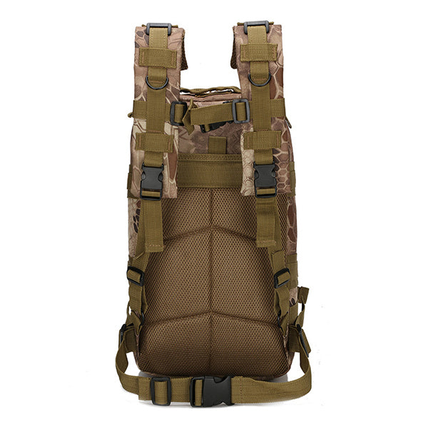 Camping Multi-functional Waterproof Tactical Backpack - KINGEOUS