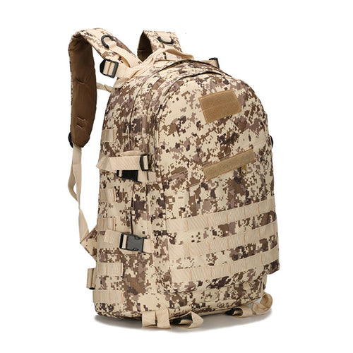 Large Capacity Camo Waterproof Tactical Backpack