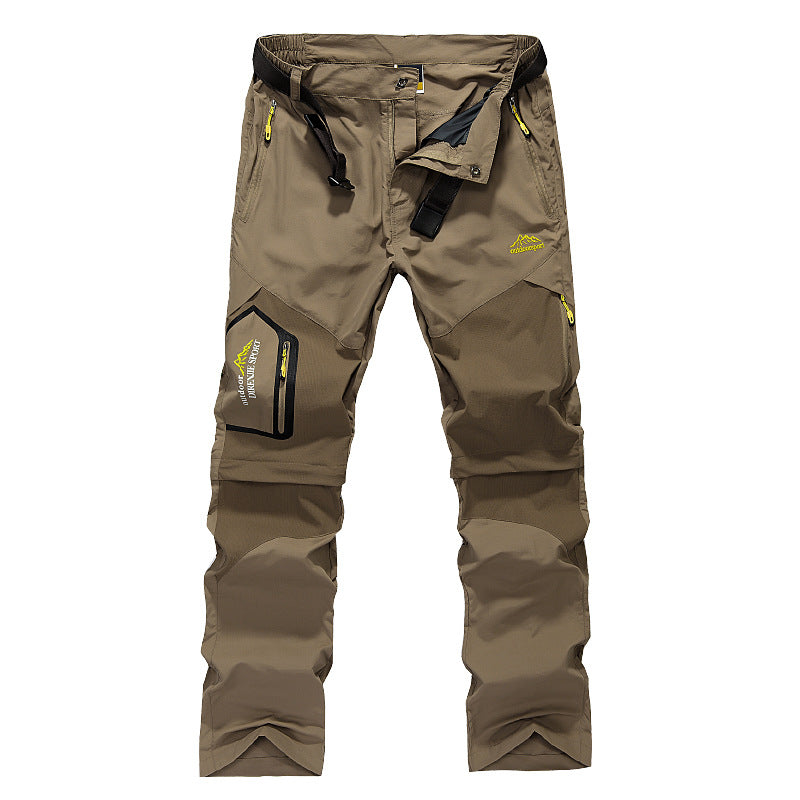 Summer Detachable Fast Drying Hiking Men's Pants