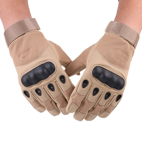 Microfiber Outdoor Warm Full Finger Tactical Gloves