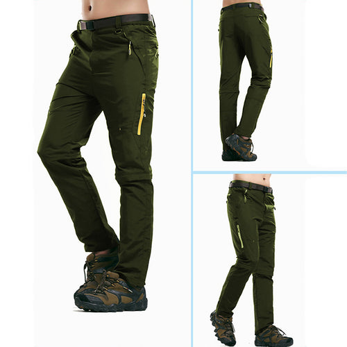 Fast Drying Waterproof Riding Detachable Multi-Pocket Cargo Pants