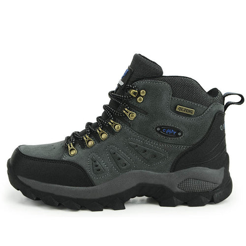 Professional Climbing Hiking Waterproof Couple Ankle Boots