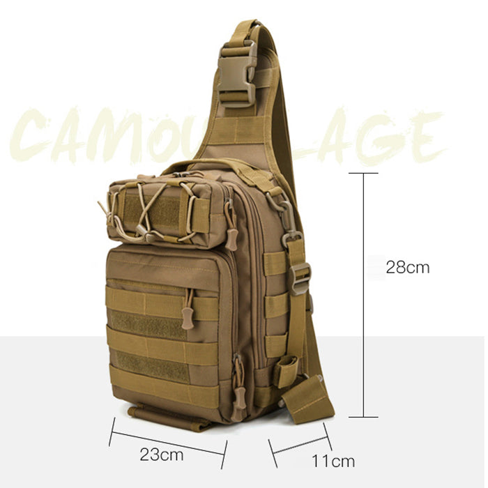 Outdoor Fishing Bag Multifunctional Tactical Men Shoulder Bag