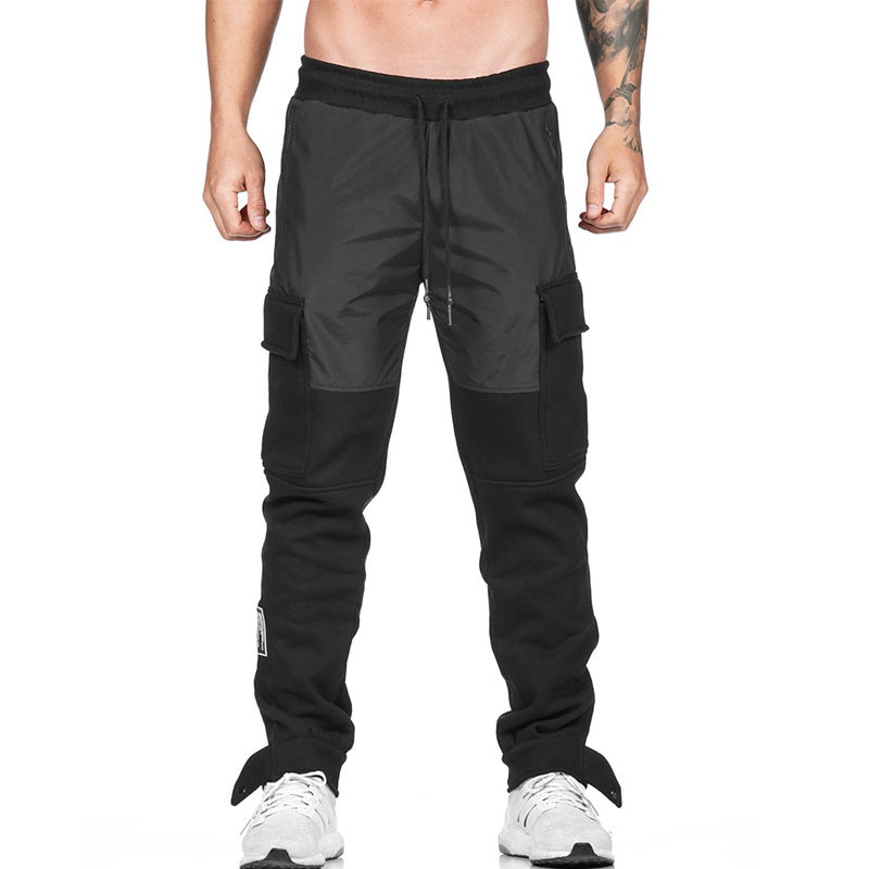 Casual Sports Loose Multi-pocket Men's Pants