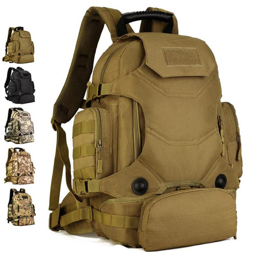 Multifunctional Outdoor Hunting Fishing Military 40L Backpack