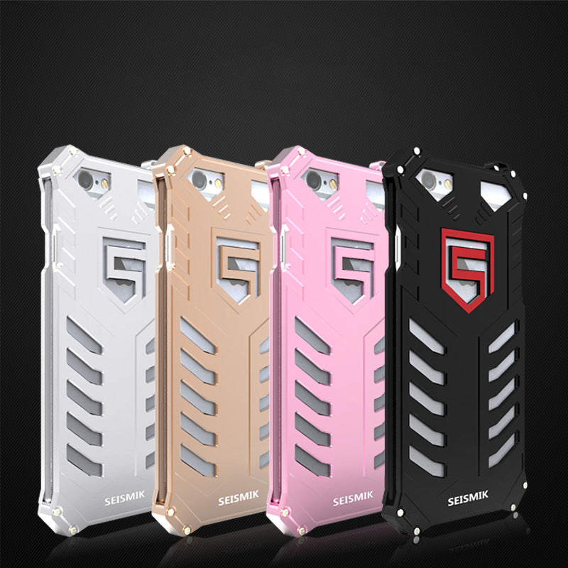 360° Protection Phone Case Metal for iPhone 5/5s/6/6s/7 - KINGEOUS