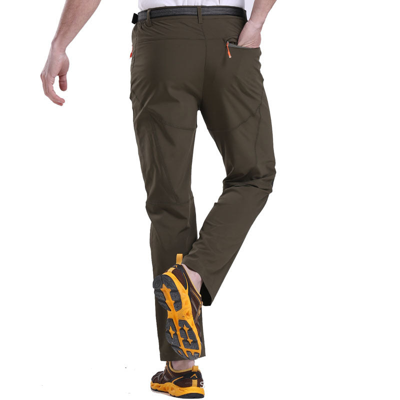Thin Light Fast Drying Men and Women Pants