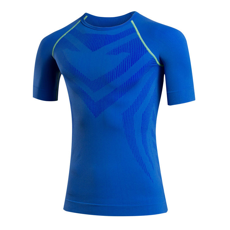 Basketball Elastic Fast Drying Men's Sportswear T-shirt - KINGEOUS
