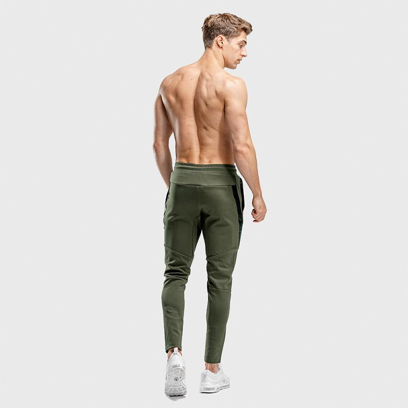 Casual Breathable Stretch Fitness Men Sports Pants