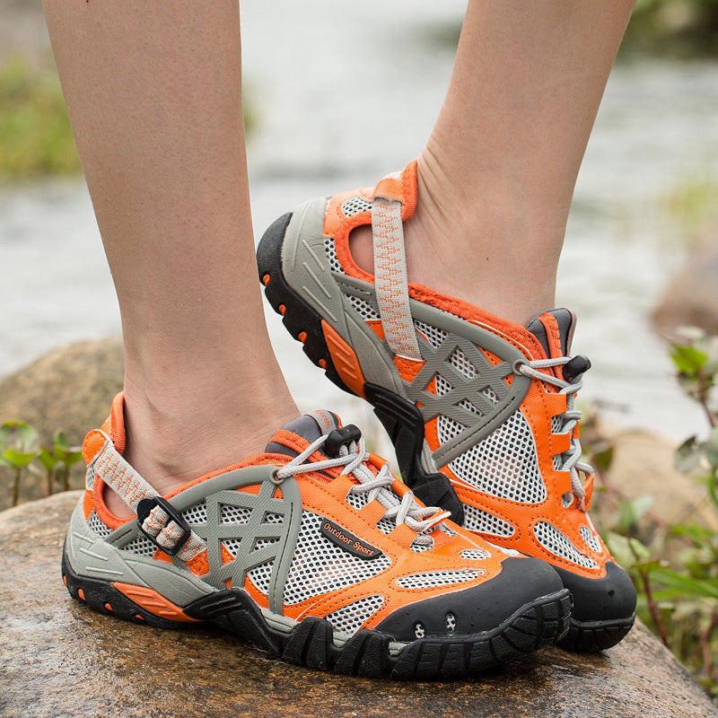 Outdoor Hiking Sandals Breathable Non-slip Men Women Shoes