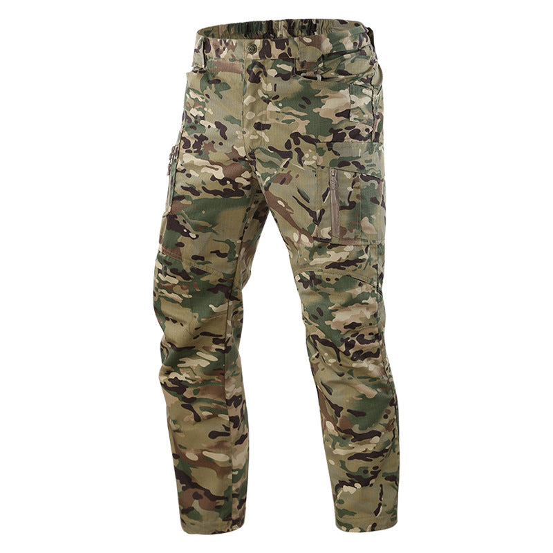 Camping Outdoor Camouflage Concealed Tactical Men's Pants