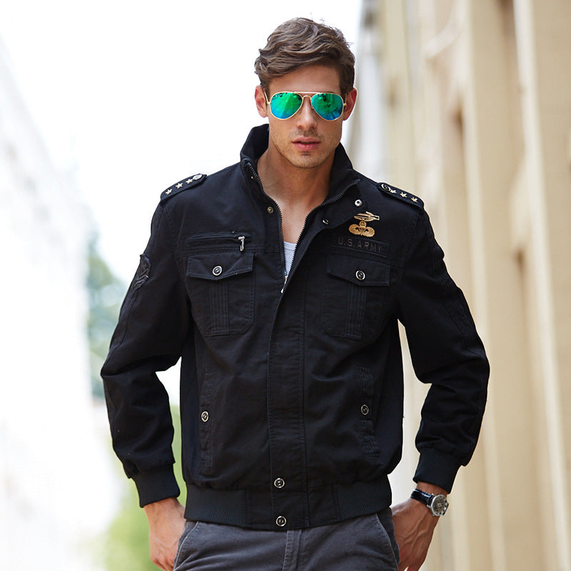 Fashion Keep Warm Men's Casual Jacket - KINGEOUS