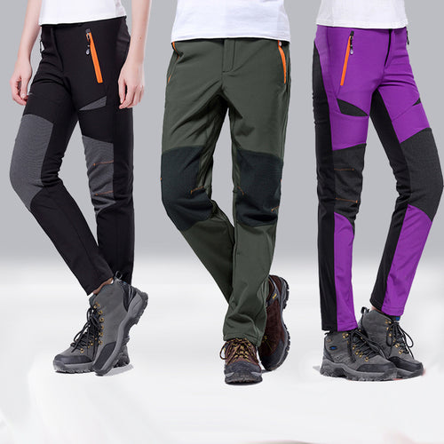 Outdoor Thick Warm Waterproof Men and Women Pants