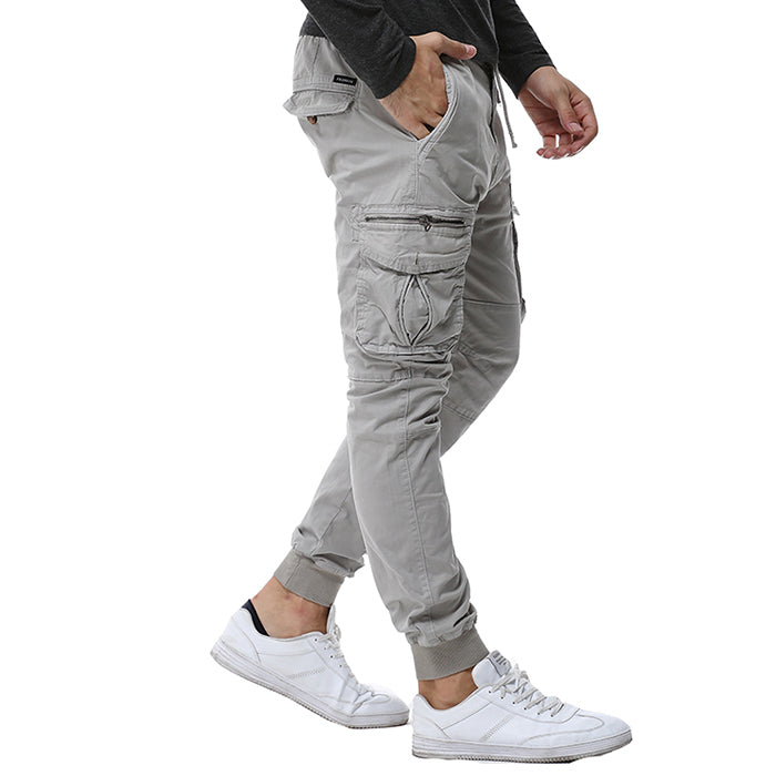 Leisure Slim Military Style Men's Pants