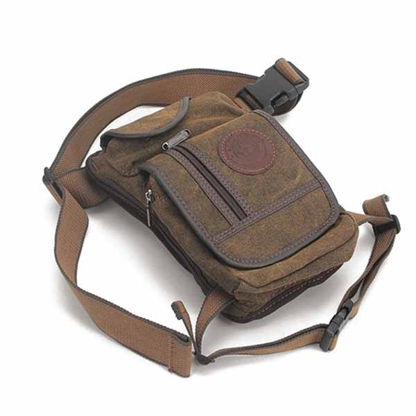 Retro Multi-function Wearable Canvas Men's Backpack