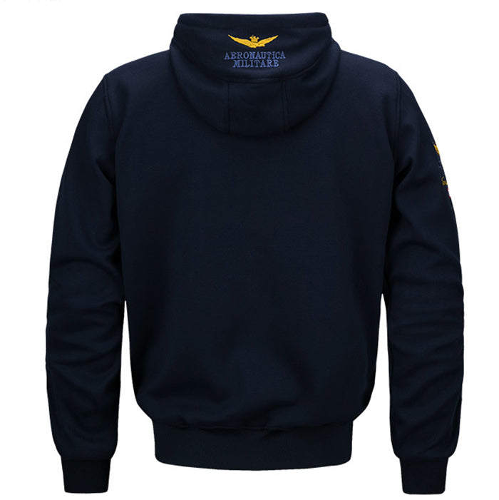 Leisure Sport Hooded Velvet Surface Men's Hoodie