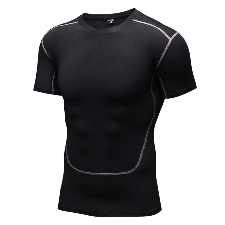 Slim Sport Fast Drying Men's Sportswear T-shirt