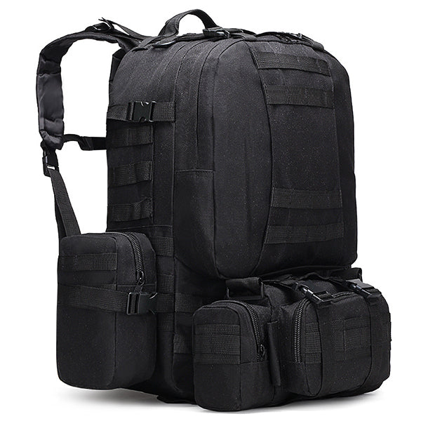 Camping Camo Tear-resistant Tactical 4 In One  backpack - KINGEOUS
