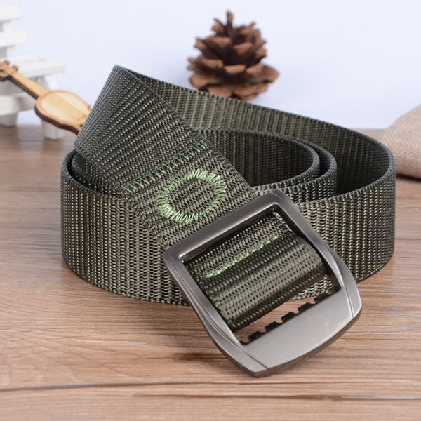 YKK Buckle 100% Nylon Tank Pattern Tactical Belt