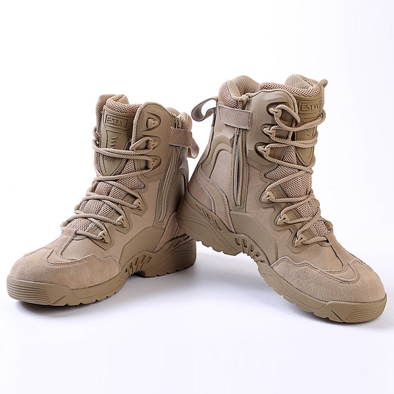 Cool Tactical Desert Climbing Outdoor Men's Boots - KINGEOUS