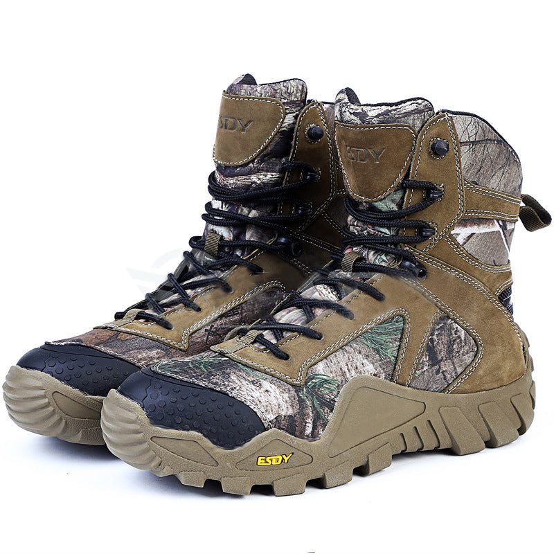 Military Tactical Camouflage Outdoor Men's Boots