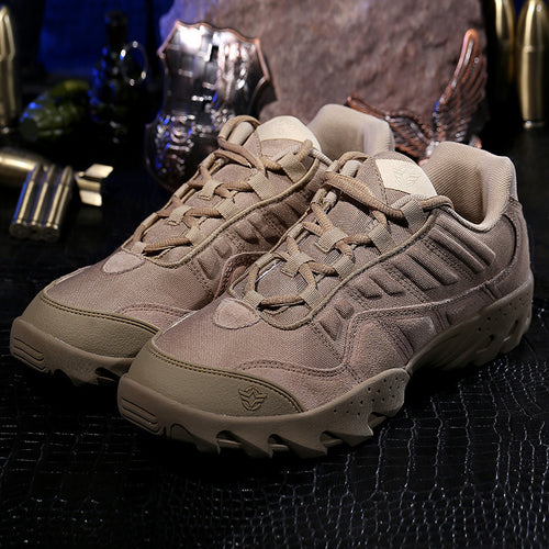 Leather Anti-static Middle Upper Tooling Shoes