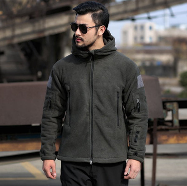 TAD Soft Shell Fleece Thicken Warm Men's Jacket