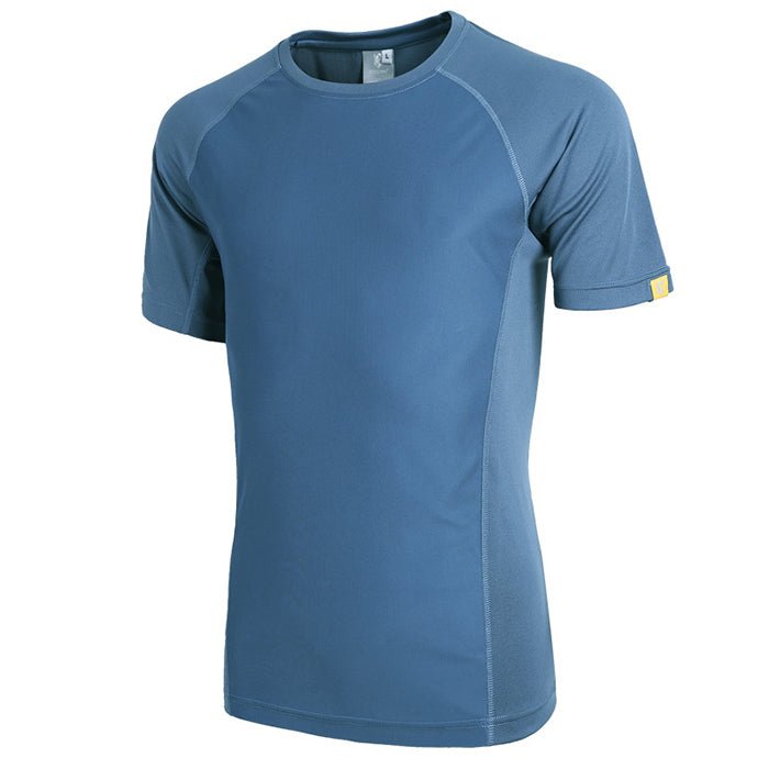 Outdoor Quick-Drying Split Joint Men's T-Shirt