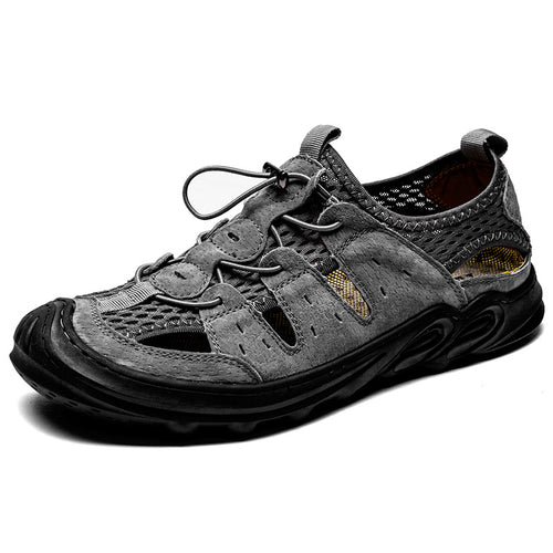 Outdoor Hollow Mesh All-match Men's Shoes