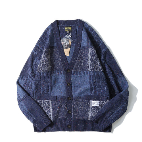 Loose Knit BF Style Men Casual Cardigan