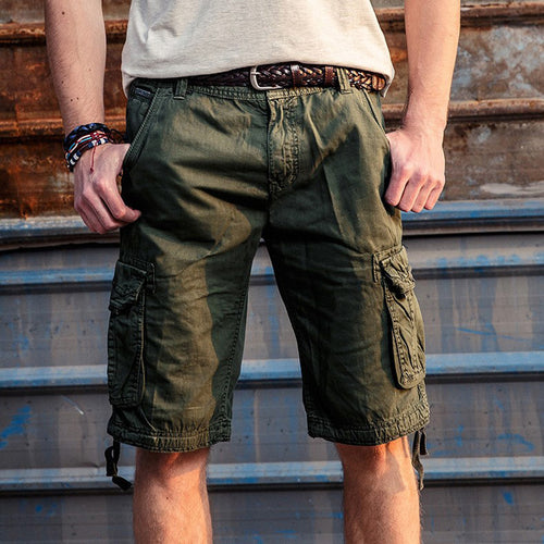 Outdoor Leisure Camo Sports Men's Shorts