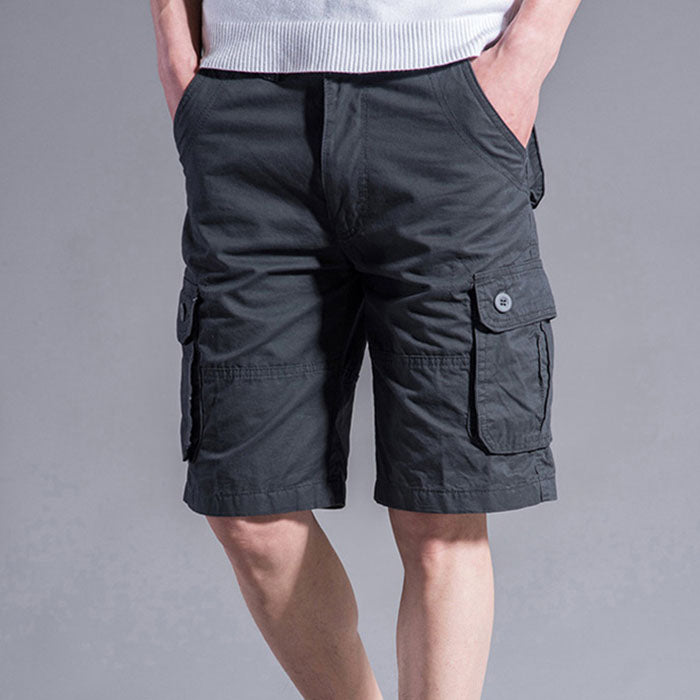 Outdoor Plus Size Loose Large Pocket Men's Shorts