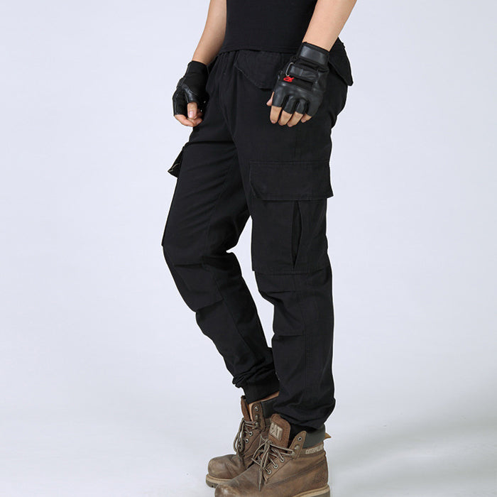 Leisure Slim Multi-Pocket Tactical Men's Harem Pants