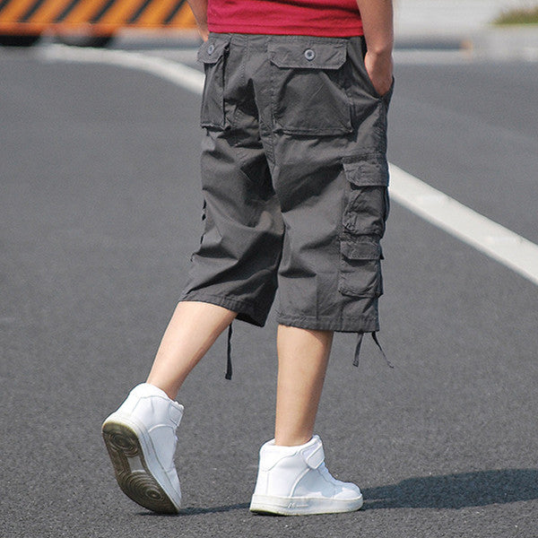 Large Size Multi-Pocket Outdoor Men's Shorts