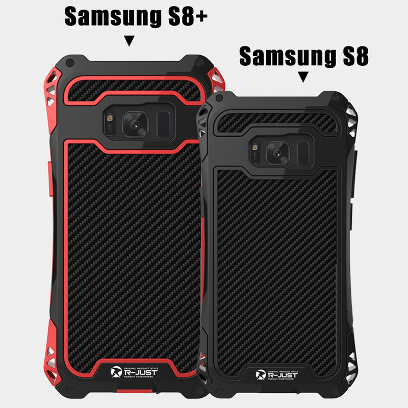 SAMSUNG S8 and S8 Plus 360 Protection Three Layers Silicone Phone Case