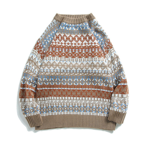 Casual Winter Warm Round Neck Men Sweater