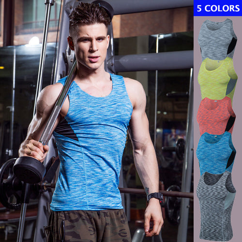 Split Joint Breathable Men's Sportswear Vest