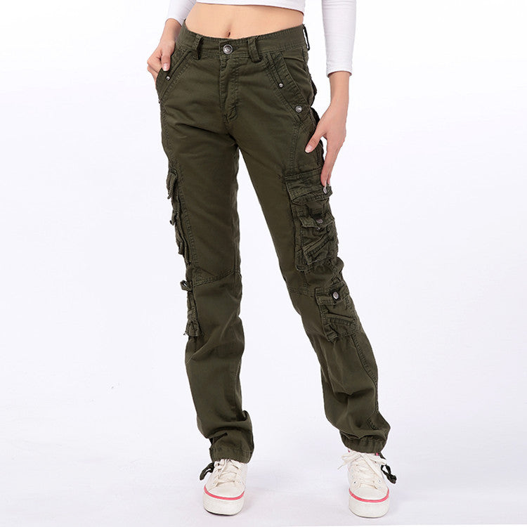 Stylish Casual Multi-pocket Women's Cargo Pants