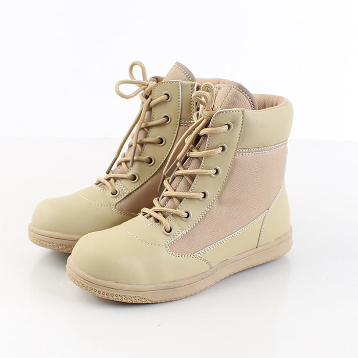 Child Military Style Non-Slip Hiking Tactical Combat Boots - KINGEOUS