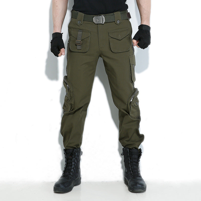 Casual Pockets Design Cargo Men's Pants - KINGEOUS