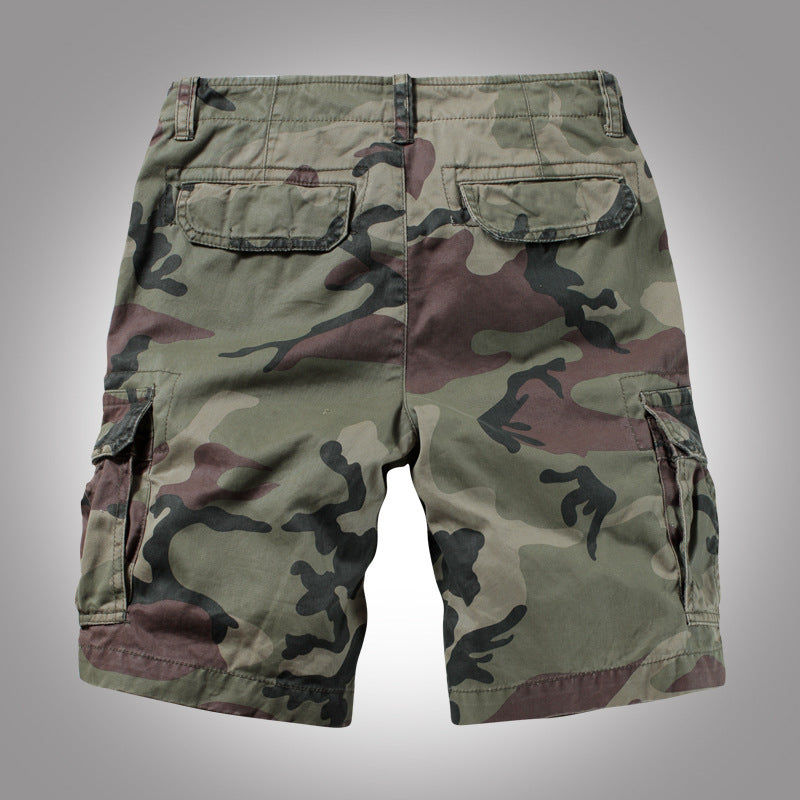 Outdoor Beach Multi-pocket Men's Shorts