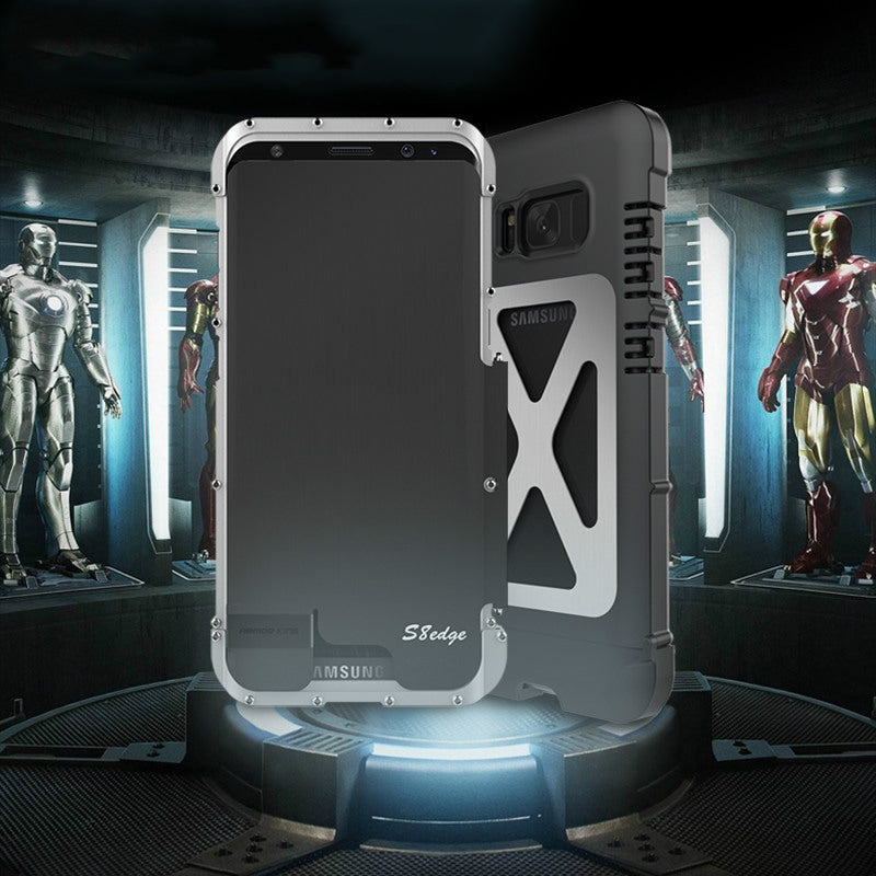 Gorgeous Three Layers Ironman Element Phone Case For Galaxy S8 Plus and S8