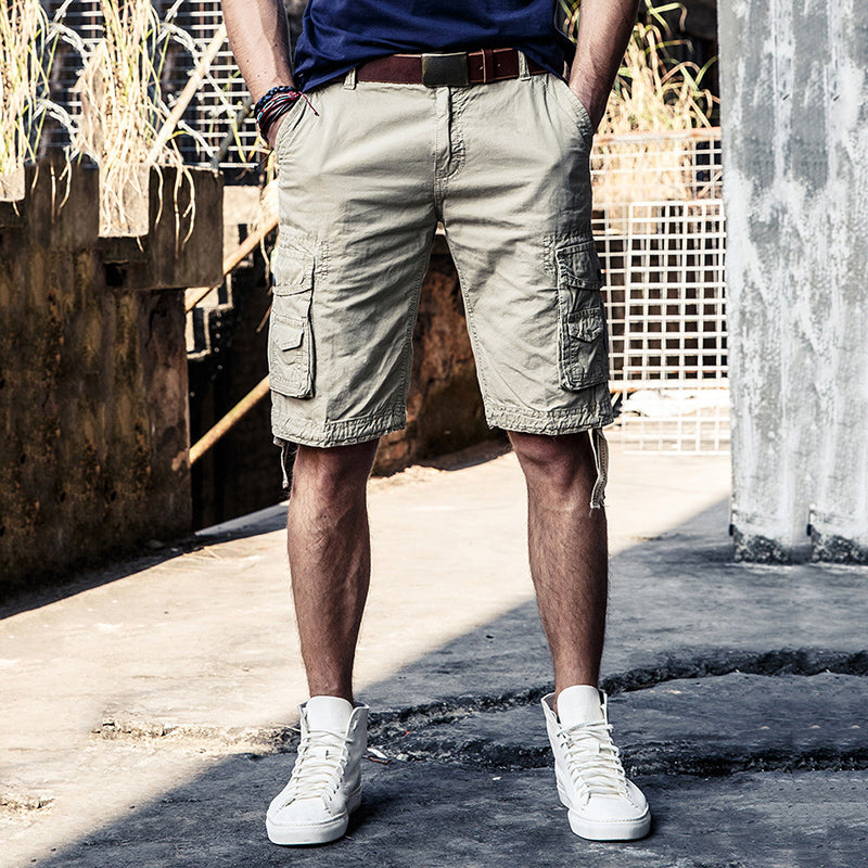 Latest Multi-pocket Casual Men's Cargo Shorts