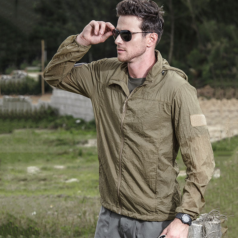 Tactical Outdoor Sunscreen Breathable UPF30 Skin Clothes