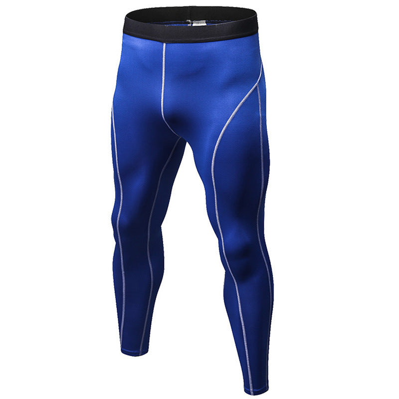 Fitness Jogging Slim Men's Sportswear Long Pants
