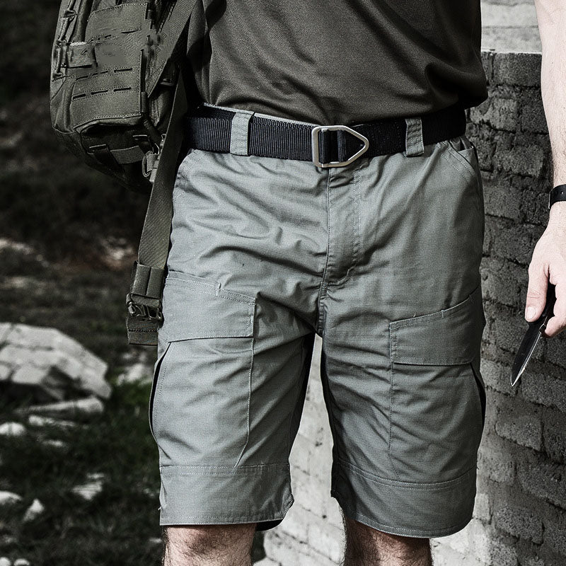 Daily Tactical Cotton Military Pockets Men Cargo Shorts - KINGEOUS