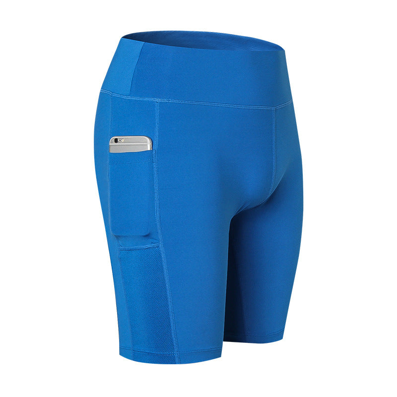 Elastic Running Fitness Women Sportswear Shorts