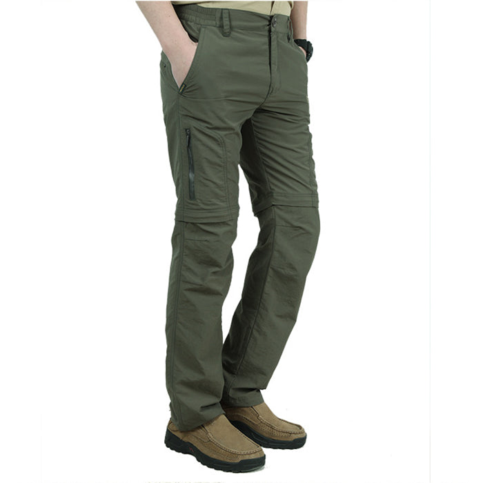 Detachable Multi-Pocket Breathable Quick-Drying Men's Pants - KINGEOUS