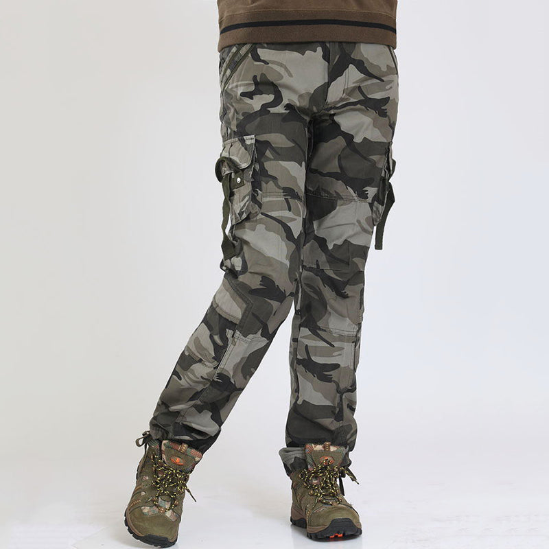 Military Casual Multi-pocket Women's Cargo Pants