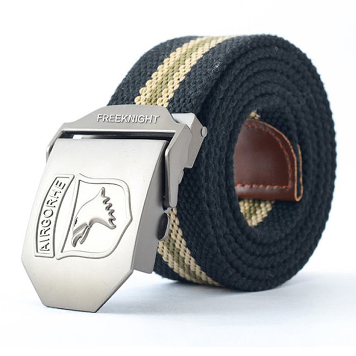 Add Thicken Canvas Belt for Men - KINGEOUS